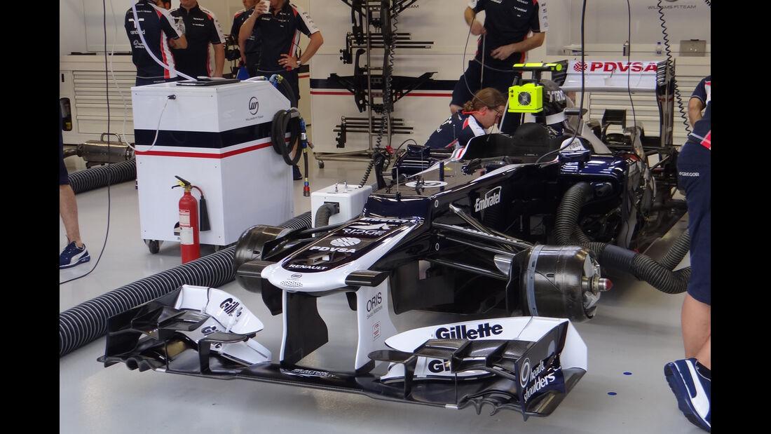 Williams - Formel 1 - GP Singapur - 21. September 2012