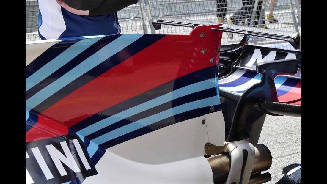 Williams - Formel 1 - GP Spanien - 11. Mai 2017