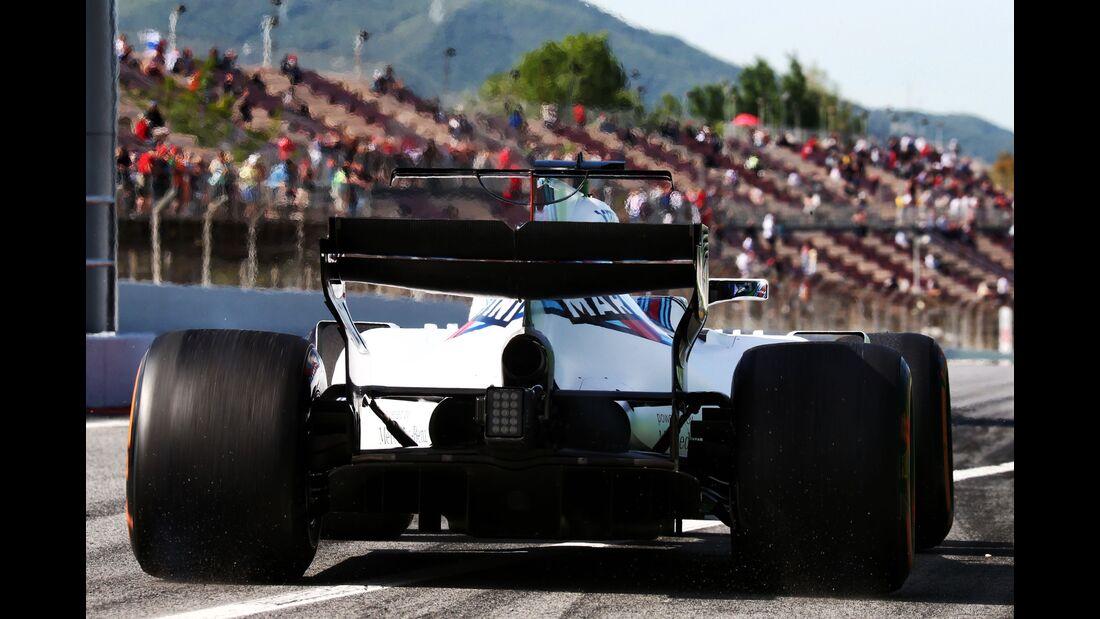 Williams - Formel 1 - GP Spanien - 12. Mai 2017