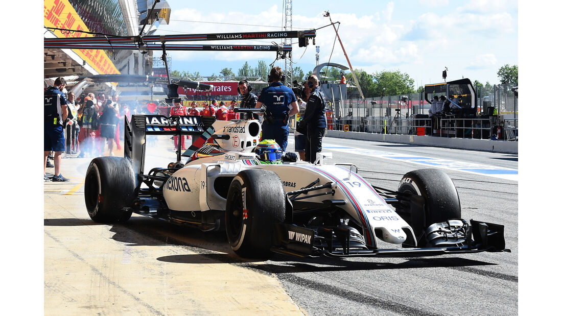 Williams - Formel 1 - GP Spanien 2016