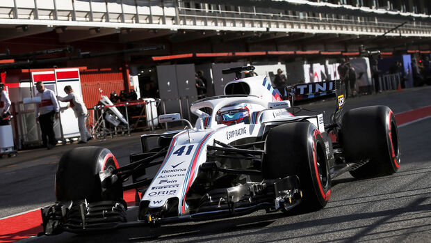 Williams - Formel 1 - GP Spanien 2018