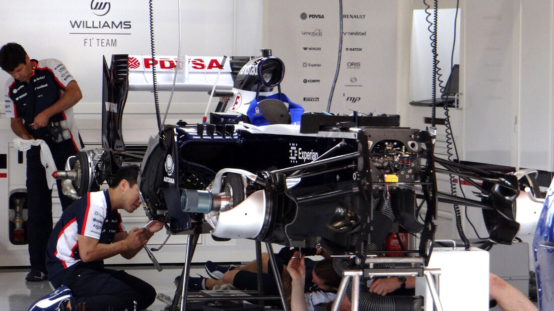 Williams - Formel 1 - GP Spanien - 9. Mai 2013