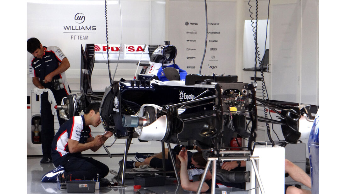 Williams - Formel 1 - GP Spanien - 9. Mai 2013