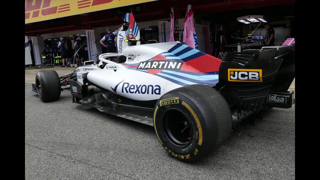 Williams - Formel 1 - GP Spanien - Barcelona - 10. Mai 2018