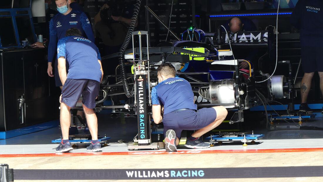 Williams - Formel 1 - GP Spanien - Donnerstag - 6.5.2021