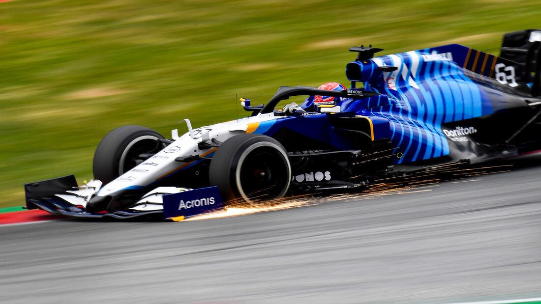 Williams - Formel 1 - GP Steiermark - Spielberg - 2021