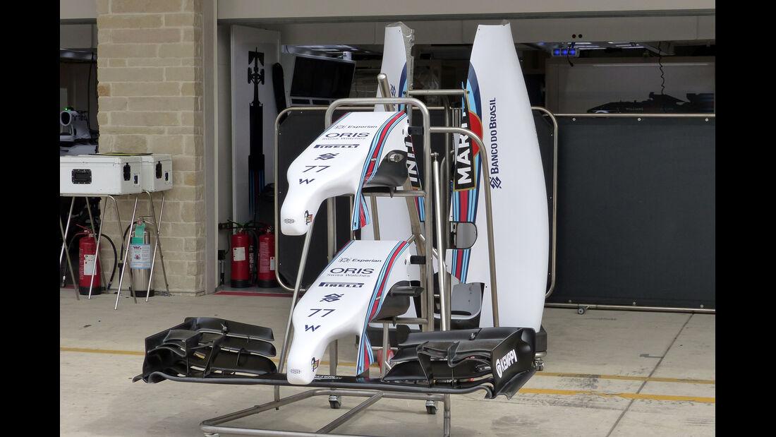 Williams - Formel 1 - GP USA - 29. Oktober 2014