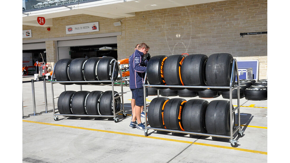 Williams - Formel 1 - GP USA - Austin - 13. November 2013