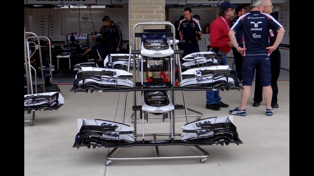 Williams - Formel 1 - GP USA - Austin - 15. November 2012