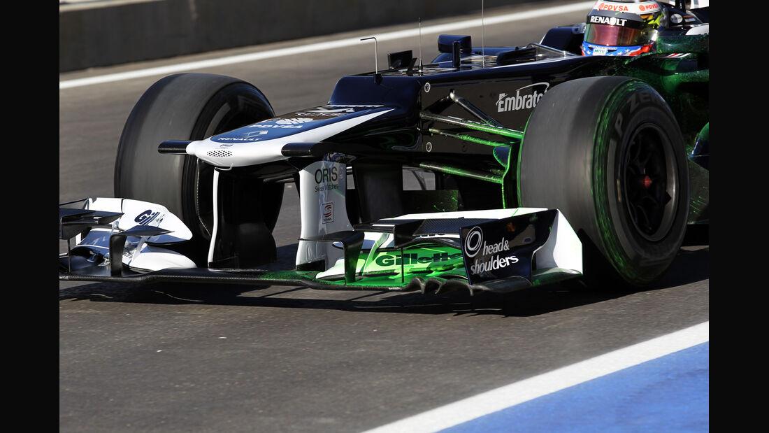 Williams - Formel 1 - GP USA - Austin - 16. November 2012
