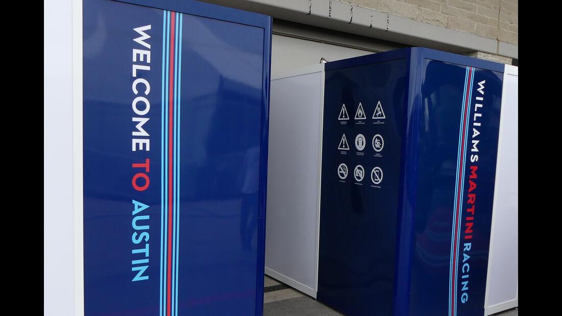Williams - Formel 1 - GP USA - Austin  - 17. Oktober 2018