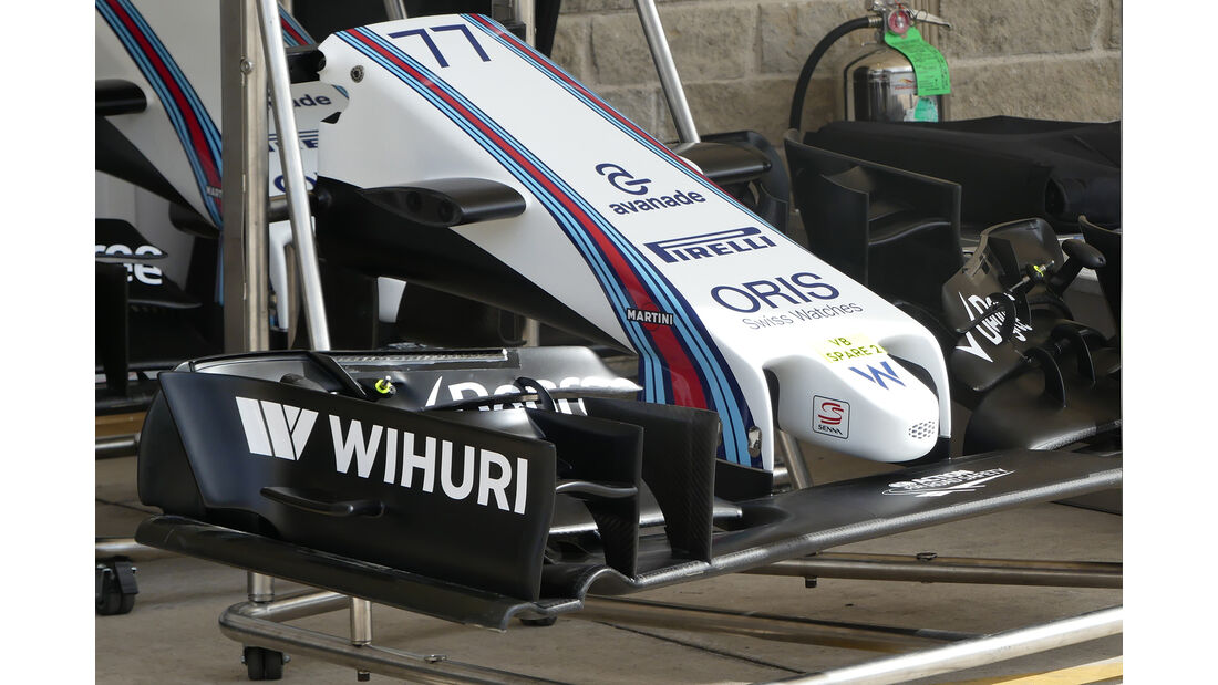 Williams - Formel 1 - GP USA - Austin - 19. Oktober 2016