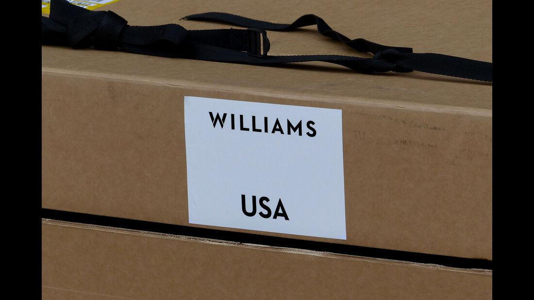 Williams - Formel 1 - GP USA - Austin - 21. Oktober 2015