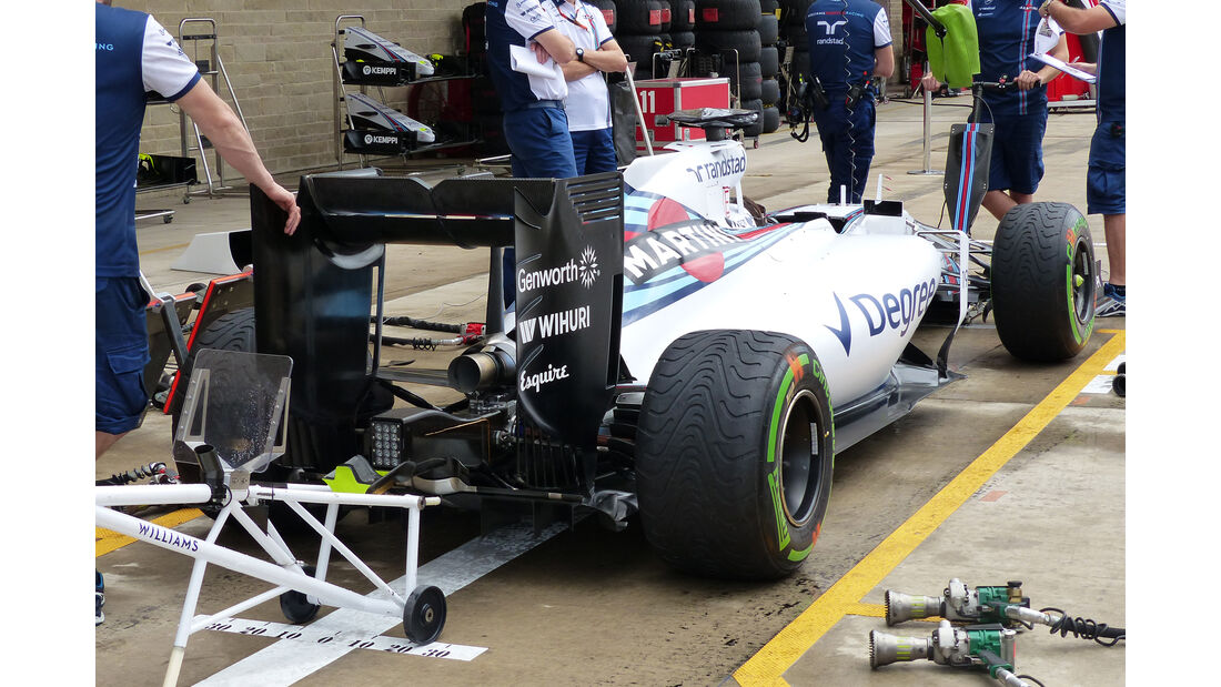 Williams - Formel 1 - GP USA - Austin - 22. Oktober 2015