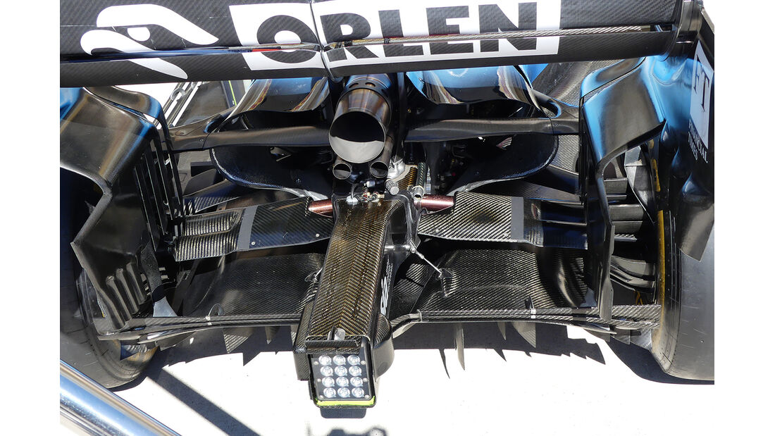 Williams - Formel 1 - GP USA - Austin - 31. Oktober 2019