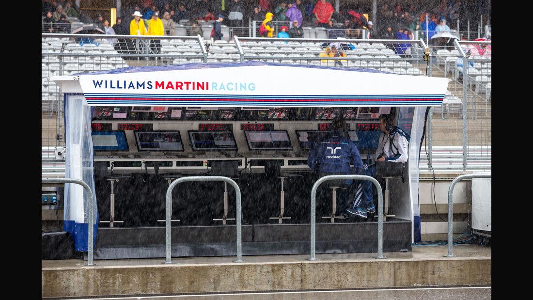 Williams - Formel 1 - GP USA - Austin - Formel 1 - 24. Oktober 2015