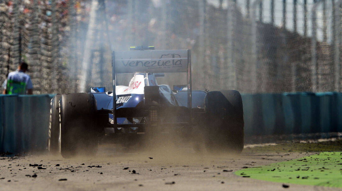 Williams - Formel 1 - GP Ungarn 2013