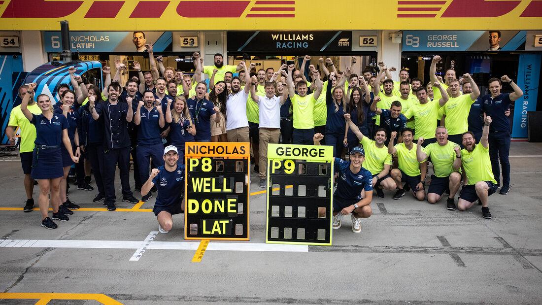 Williams - Formel 1 - GP Ungarn - 2021