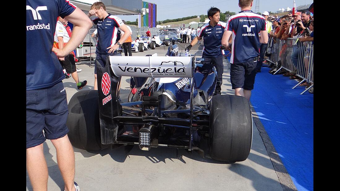 Williams - Formel 1 - GP Ungarn - 25. Juli 2012
