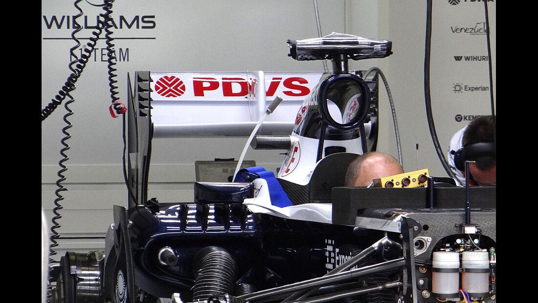 Williams - Formel 1 - GP Ungarn - 25. Juli 2013