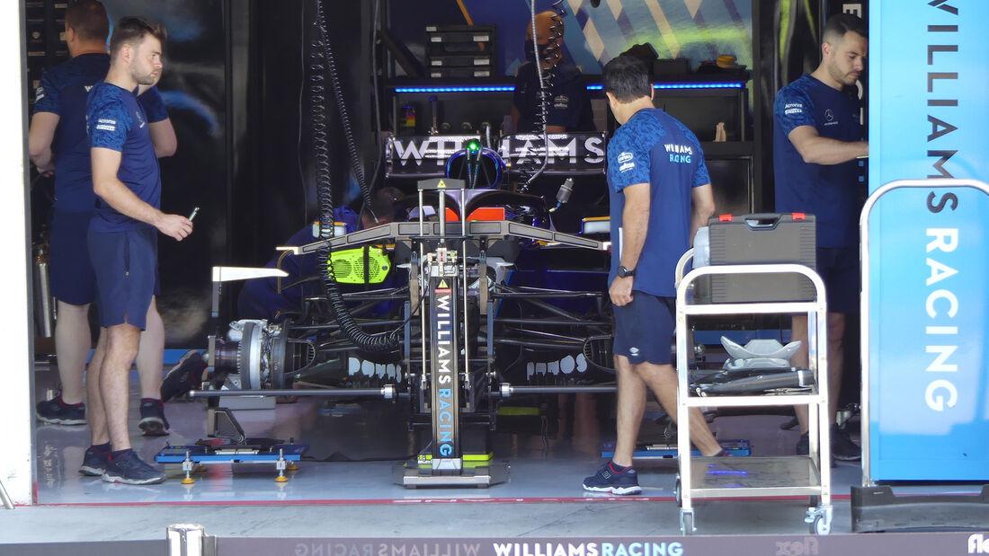 Williams - Formel 1 - GP Ungarn - Budapest - Donnerstag - 29. Juli 2021