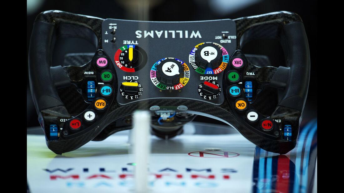 Williams - Formel 1 - Sochi - GP Russland - 9. Oktober 2015