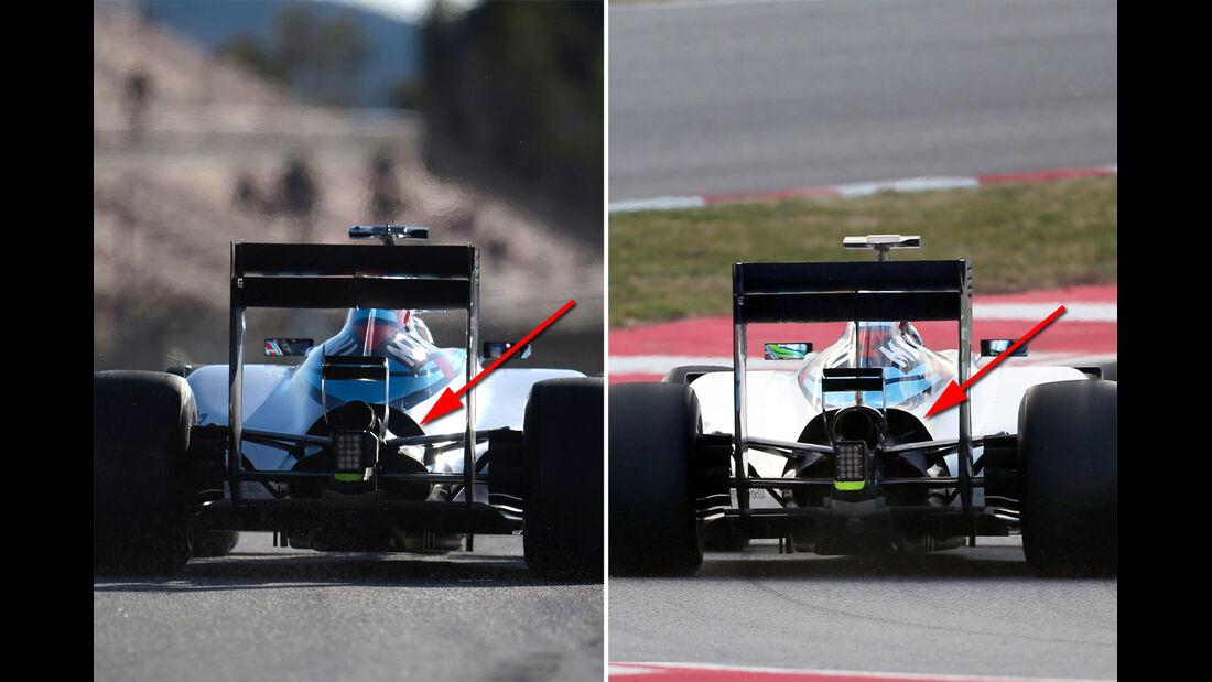 Williams - Formel 1-Technik - Barcelona-Test 2 - F1 2015