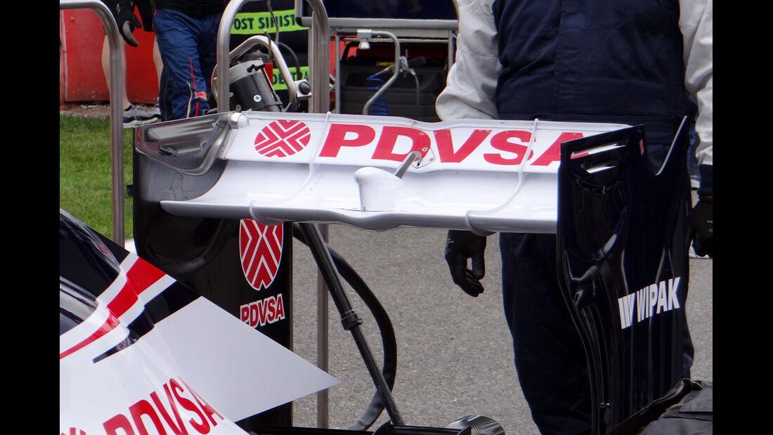 Williams - Formel 1-Technik - GP Belgien 2013