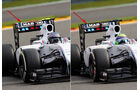 Williams - Formel 1 - Technik - GP Belgien 2014