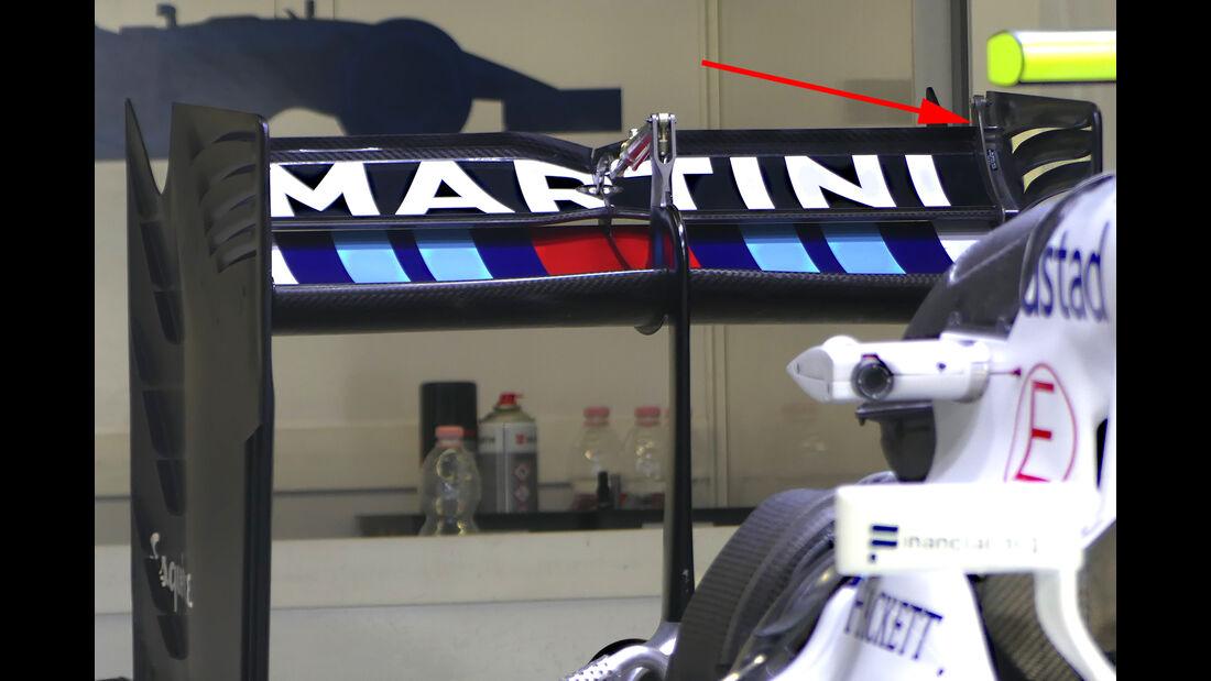 Williams - Formel 1-Technik - GP Belgien / GP Italien - 2016