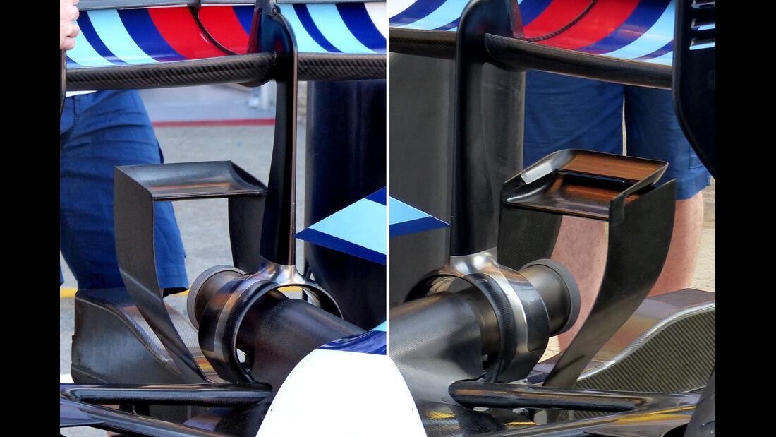 Williams - Formel 1 - Technik - GP Kanada 2015