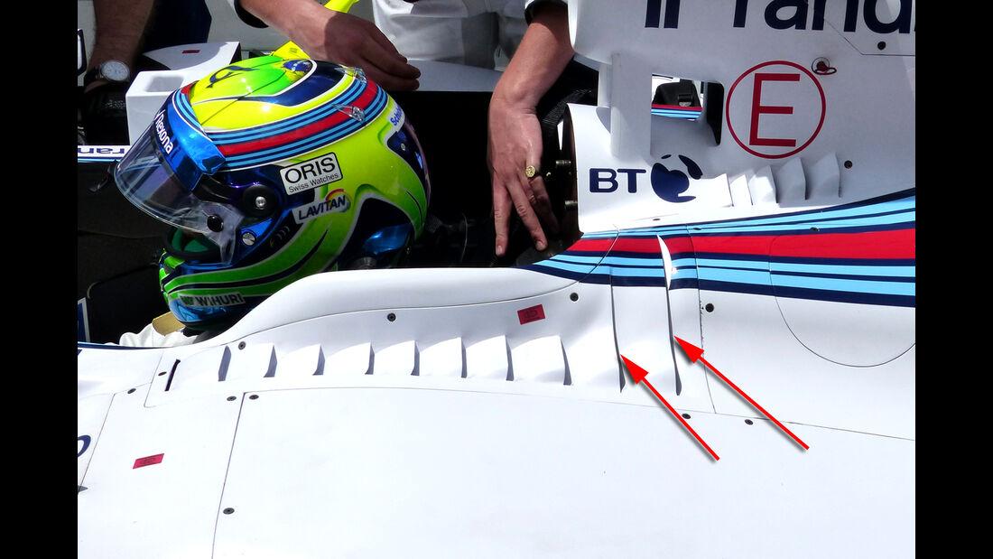 Williams - Formel 1-Technik - GP Malaysia 2015