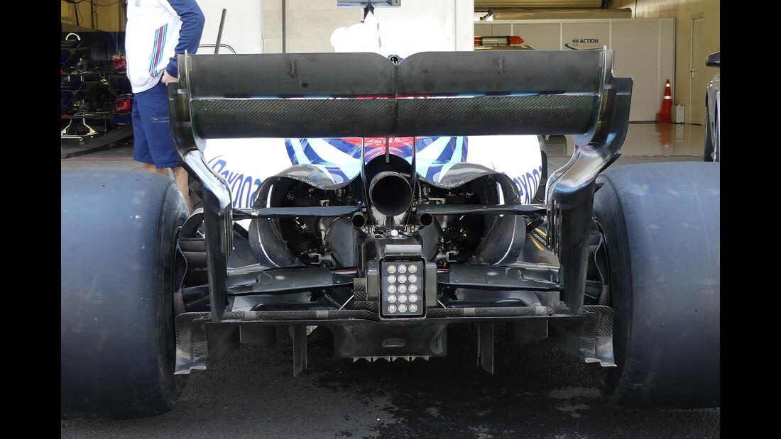 Williams - Formel 1 - Technik - GP Mexiko 2018