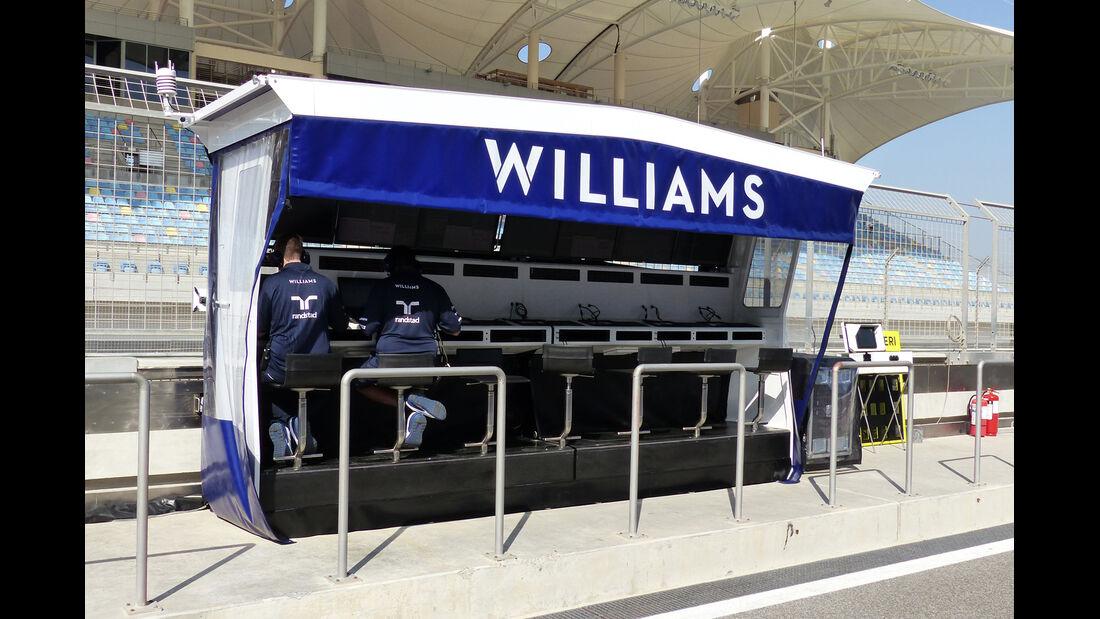 Williams - Formel 1 - Test - Bahrain - 20. Februar 2014