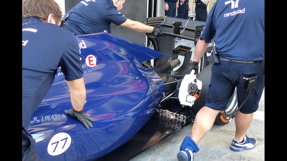 Williams - Formel 1 Test - Bahrain - 2014