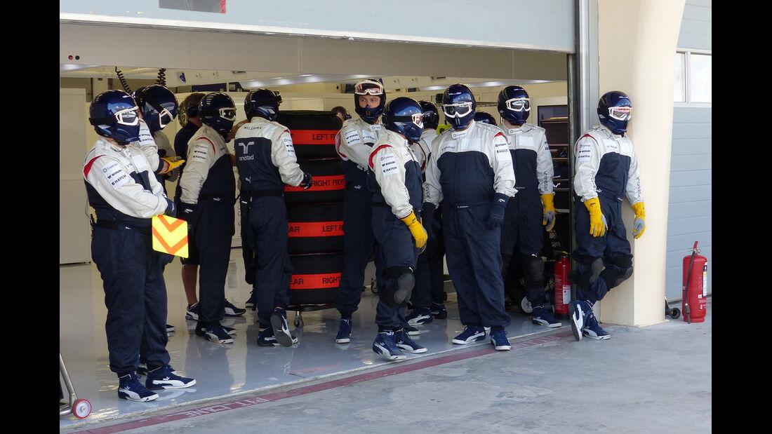 Williams - Formel 1 - Test - Bahrain - 21. Februar 2014