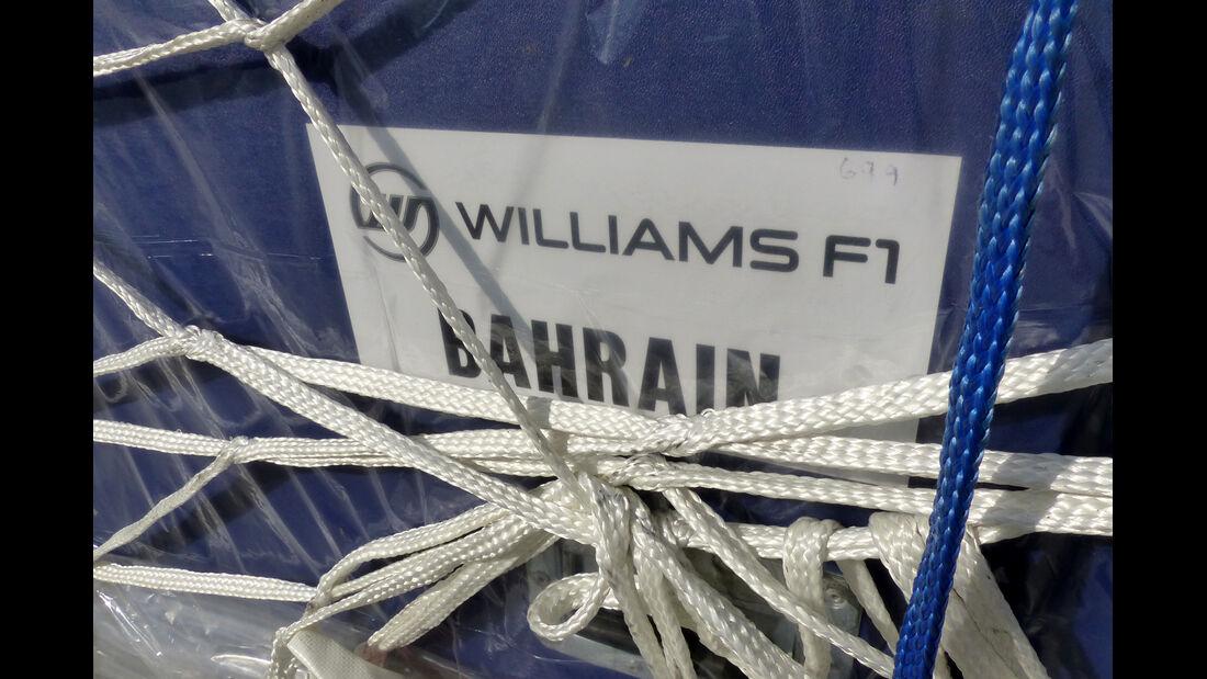 Williams - Formel 1 - Test - Bahrain - 22. Februar 2014