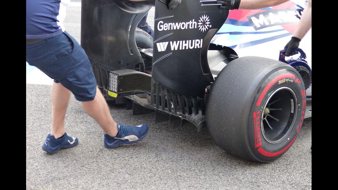 Williams - Formel 1-Test - Barcelona - 1. März 2015