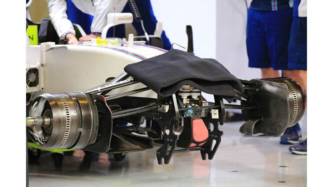 Williams - Formel 1 - Test - Barcelona - 1. März 2017