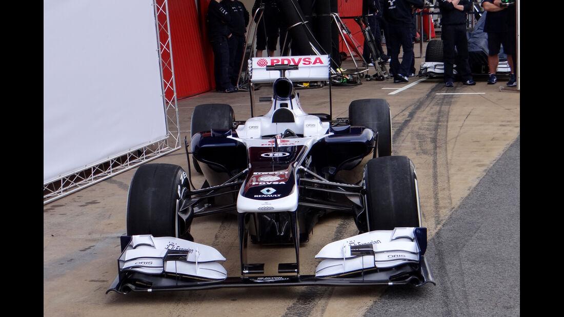 Williams - Formel 1 - Test - Barcelona - 19. Februar 2013