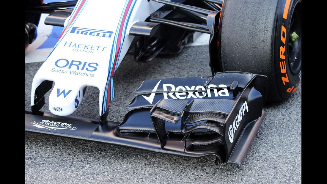 Williams - Formel 1-Test - Barcelona - 20. Februar 2015