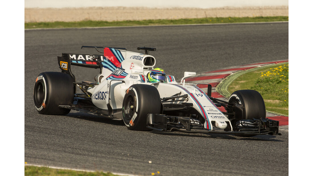 Williams - Formel 1 - Test - Barcelona - 2017