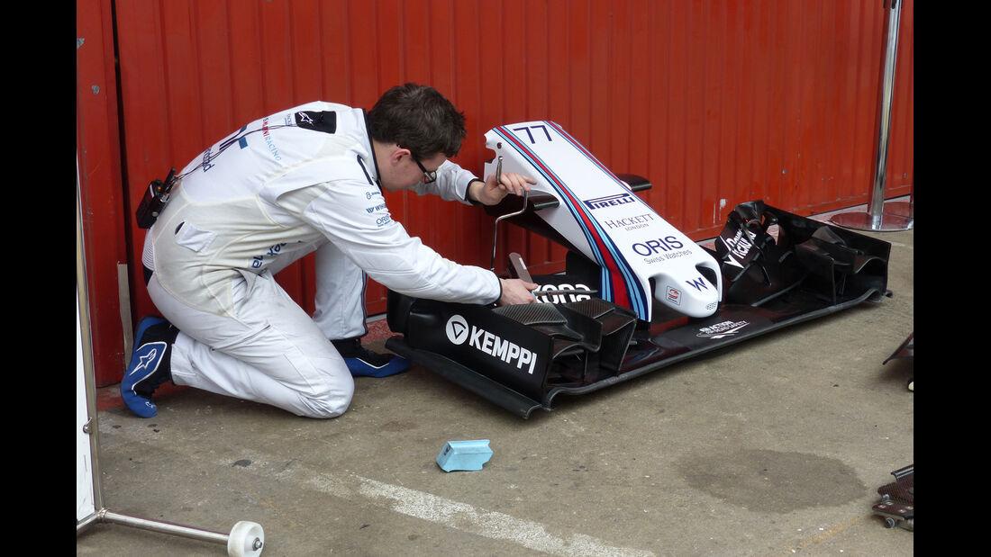 Williams - Formel 1-Test - Barcelona - 21. Februar 2015