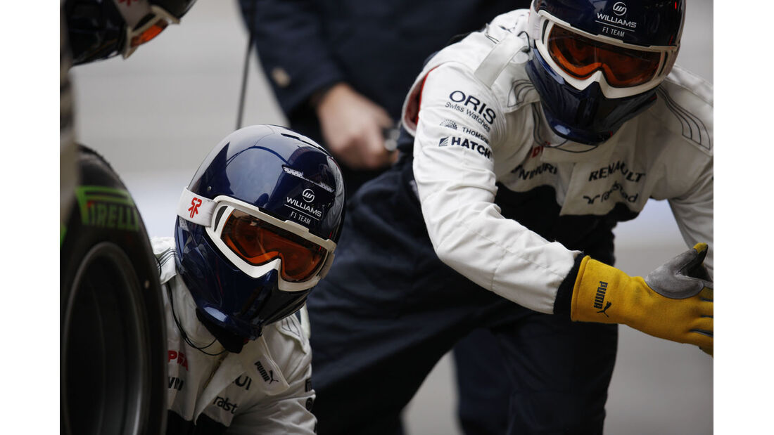 Williams, Formel 1-Test, Barcelona, 22. Februar 2013