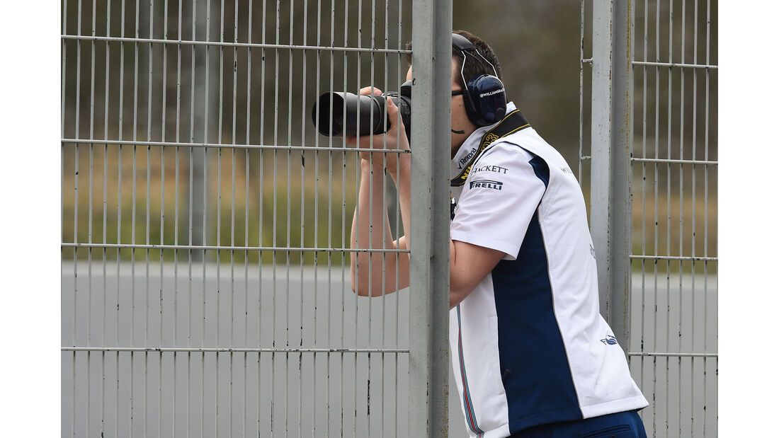 Williams - Formel 1-Test - Barcelona - 22. Februar 2016