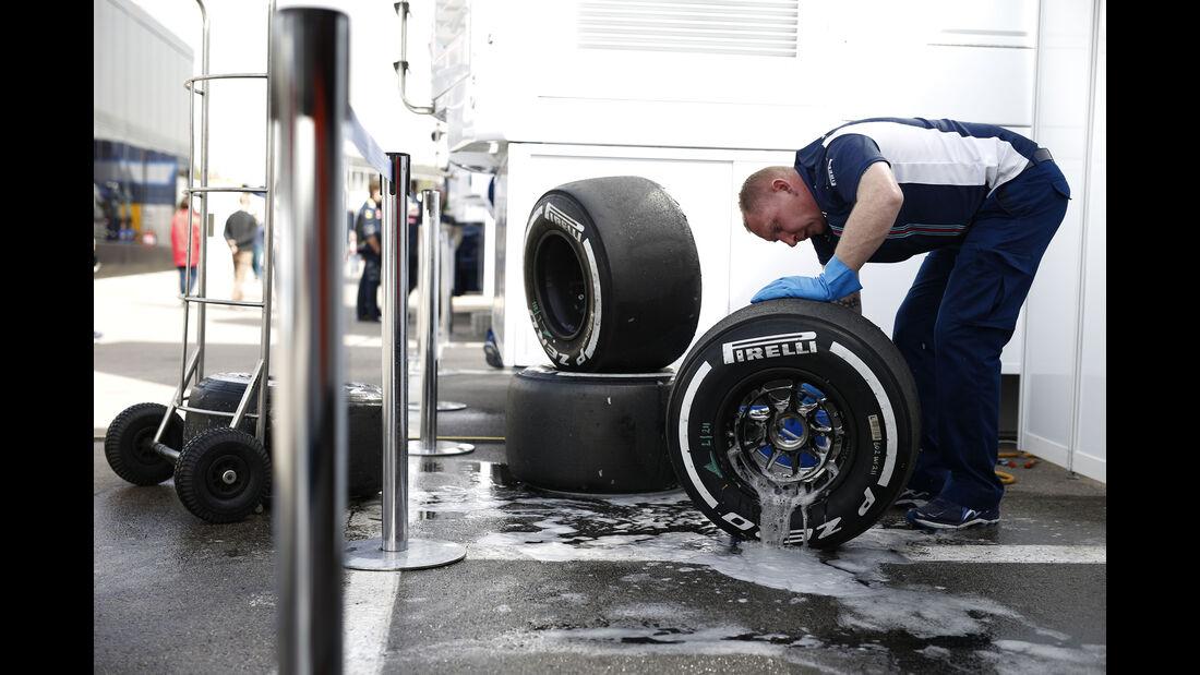 Williams - Formel 1-Test - Barcelona - 23. Februar 2016