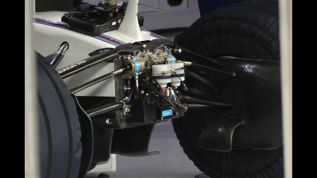 Williams - Formel 1-Test - Barcelona - 24. Februar 2016