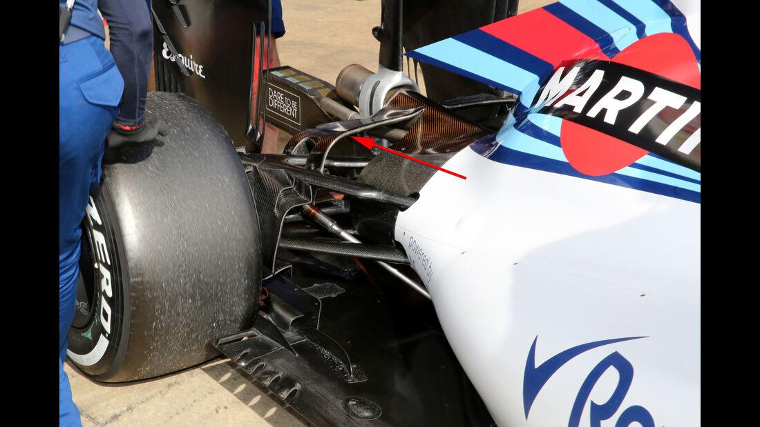 Williams - Formel 1-Test - Barcelona - 25. Februar 2016