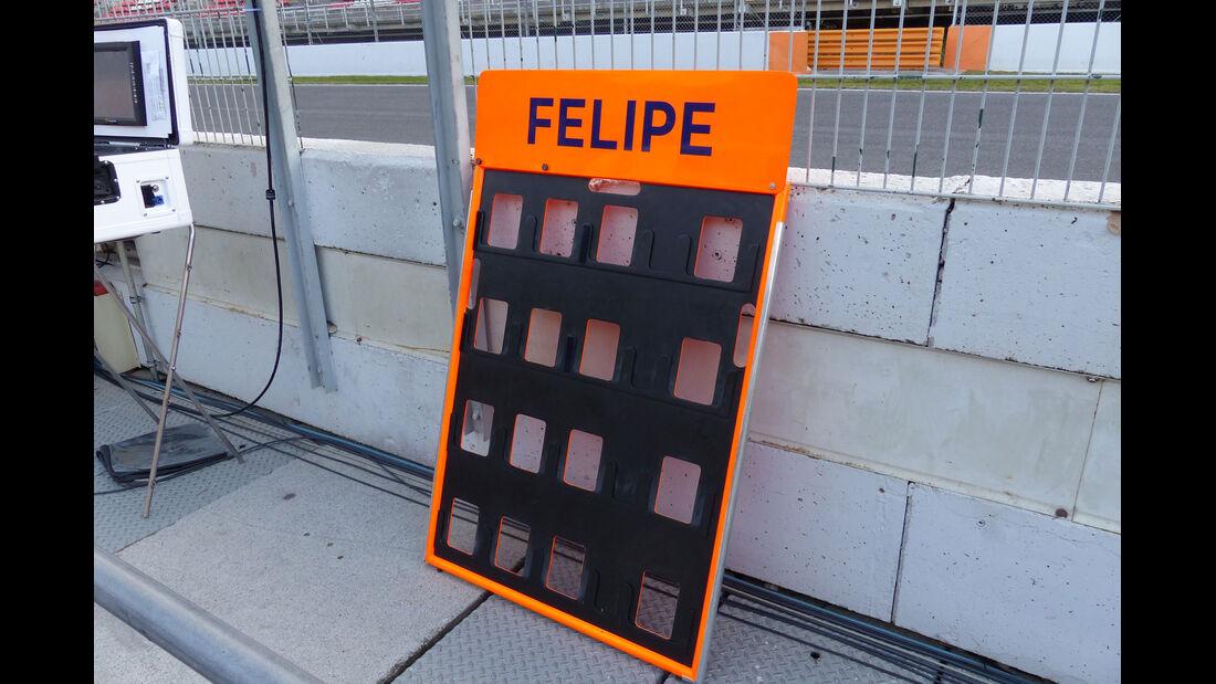 Williams. Formel 1-Test - Barcelona - 26. Februar 2015