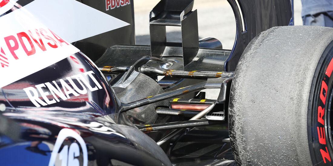 Williams - Formel 1 - Test - Barcelona - 3. März 2013